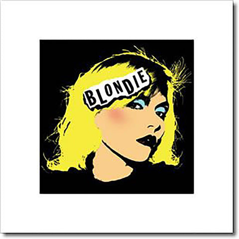 Blondie (Punk) Art Print