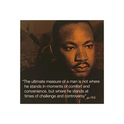 Martin Luther King Jr. (I-Quote) Art Print