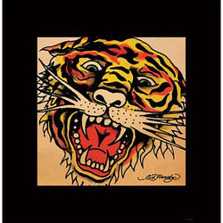Ed Hardy (Tiger Face) Art Print
