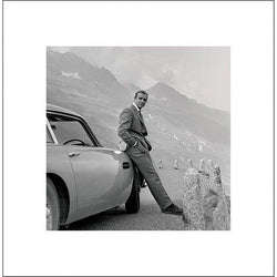 James Bond (Aston Martin) Art Print