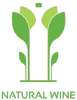 Natural wine icon logo meaning this wine is produced under natural production methods.