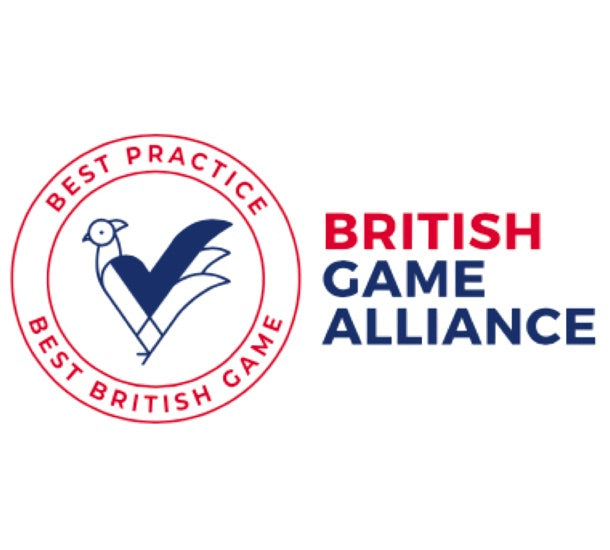 British Game Alliance logo icon to show Sybarite Cellars commitment to wild stainable healthy food that supports the wildlife conservation.