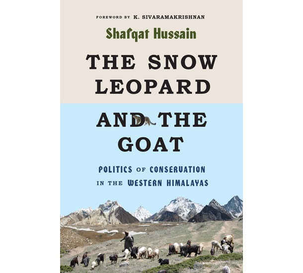 Snow Leopard book cover to show Sybarite Cellars commitment to sustainable wildlife conservation through evidence-based community hunting projects.