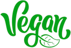 Vegan wine icon logo meaning this wine is suitable for vegans and/or vegetarian.