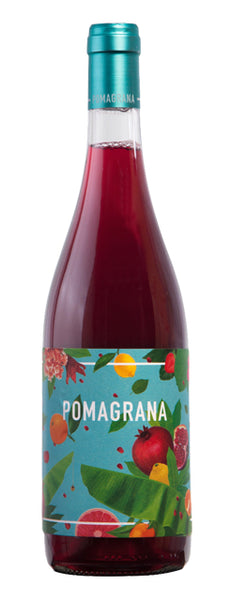 Catalunya red wine style bottle with label stating the 2019 vintage Pomagrana by Lectores Vini, from Catalunya, Spain.