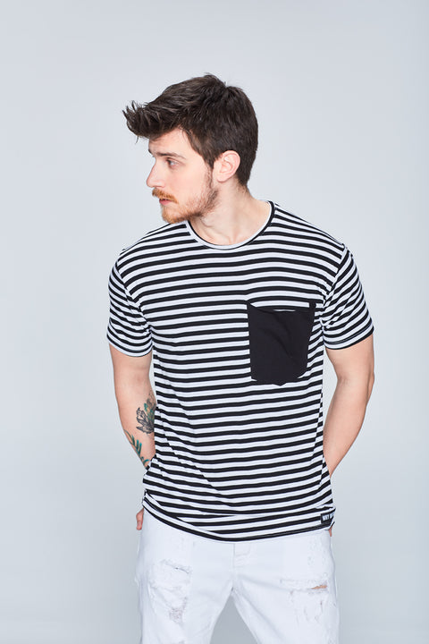 WHY NOT BRAND - Çizgili Tshirt