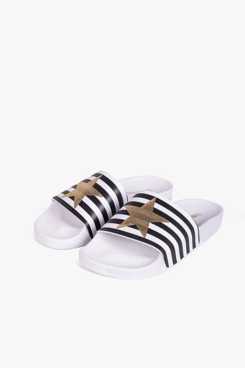 THE WHITE BRAND - Star With Stripes Terlik