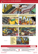 Lifting Operations: Entrapment | Safety Comic