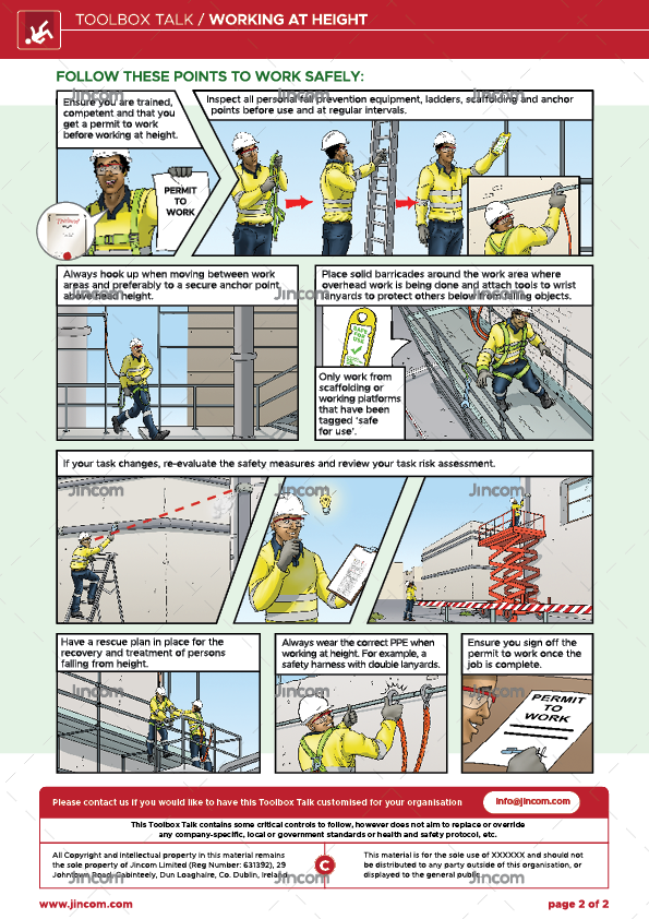 Working at Height | Toolbox Talk