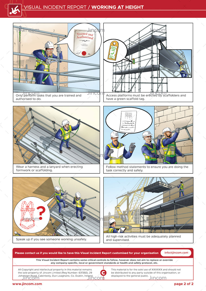 Working at Height | Visual Incident Report