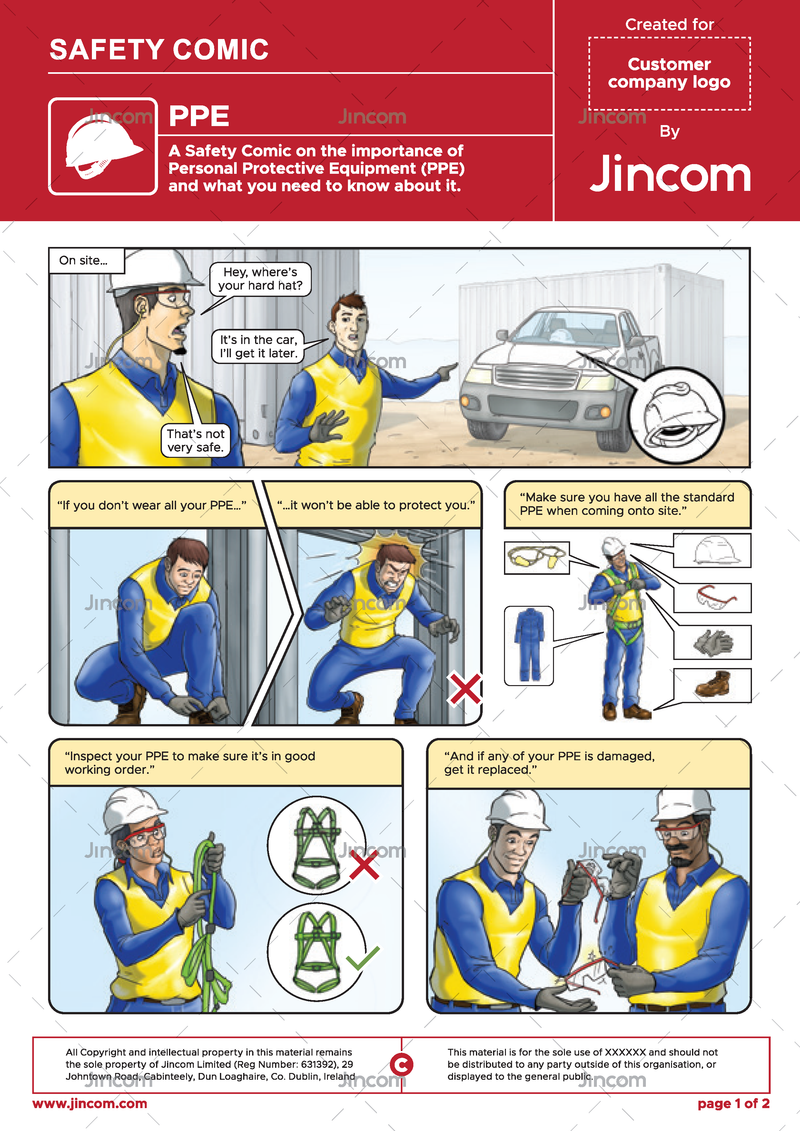 PPE | Safety Comic