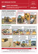 Heavy Machinery | Key Message Poster