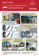 Road Safety | Safety Comic | Zulu