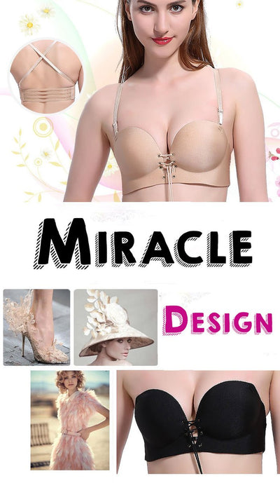 NON-SLIP INVISIBLE LACE-UP BRA