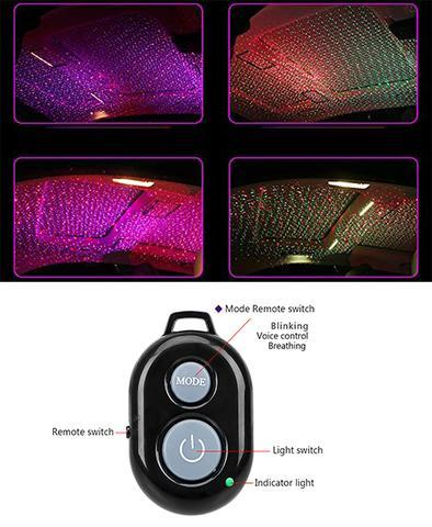 AMBIENT STAR CAR INTERIOR ROOF LIGHT