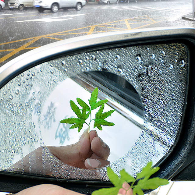 CAR MIRROR RAIN REPELLERS (2 PCS)