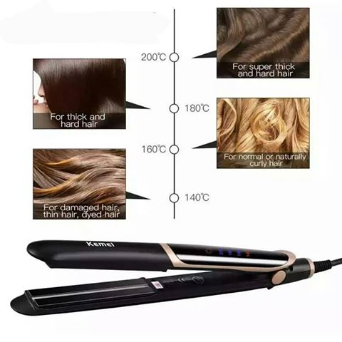 PROFESSIONAL INFRARED HAIR STRAIGHTENER
