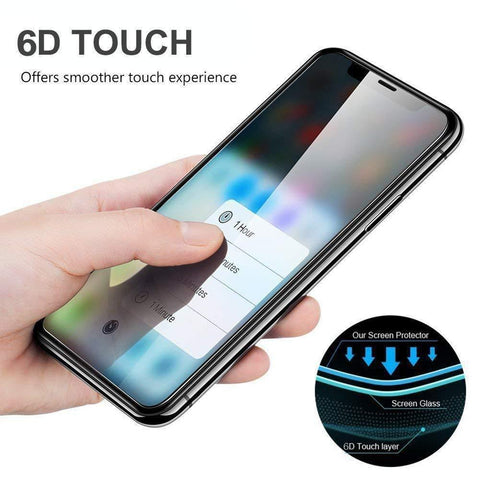 6D TEMPERED GLASS SCREEN PROTECTOR (SAMSUNG)