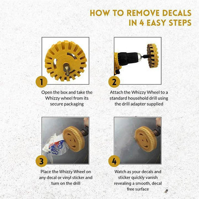 CAR DECAL REMOVER WHEEL