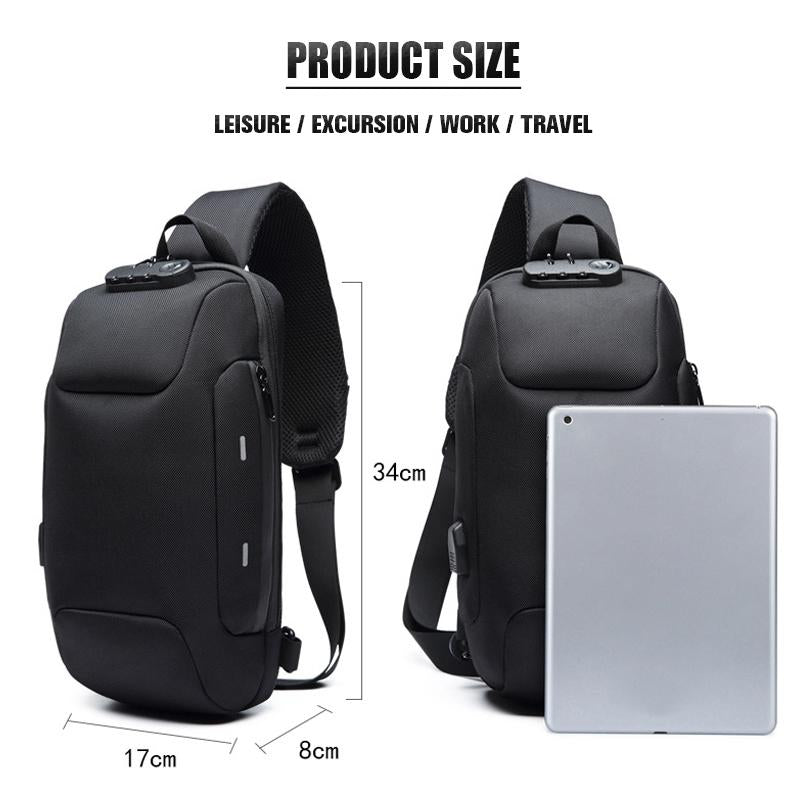 ANTI-THEFT 3-DIGIT LOCK BACKPACK