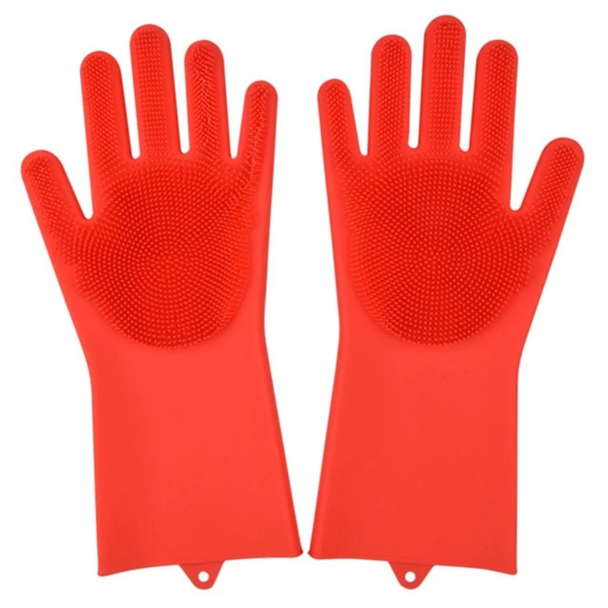 SOFT SCRUBBER CLEANING GLOVES (1 PAIR)