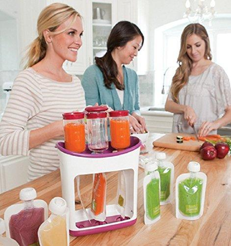 BABY FOOD SQUEEZE PACKING STATION