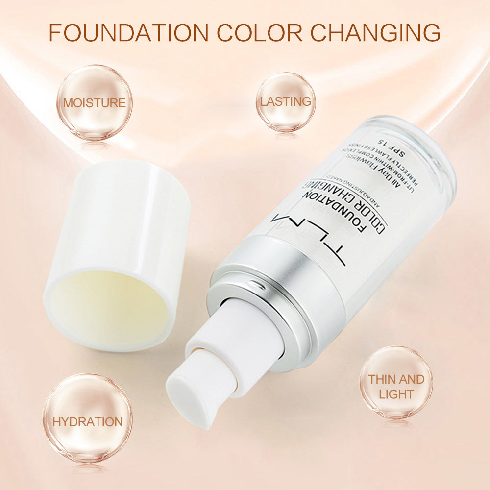 SKIN TONE ADAPTING LIQUID FOUNDATION