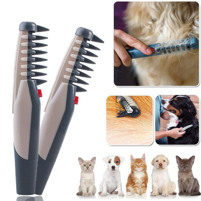 ELECTRIC DETANGLING PET GROOMING COMB