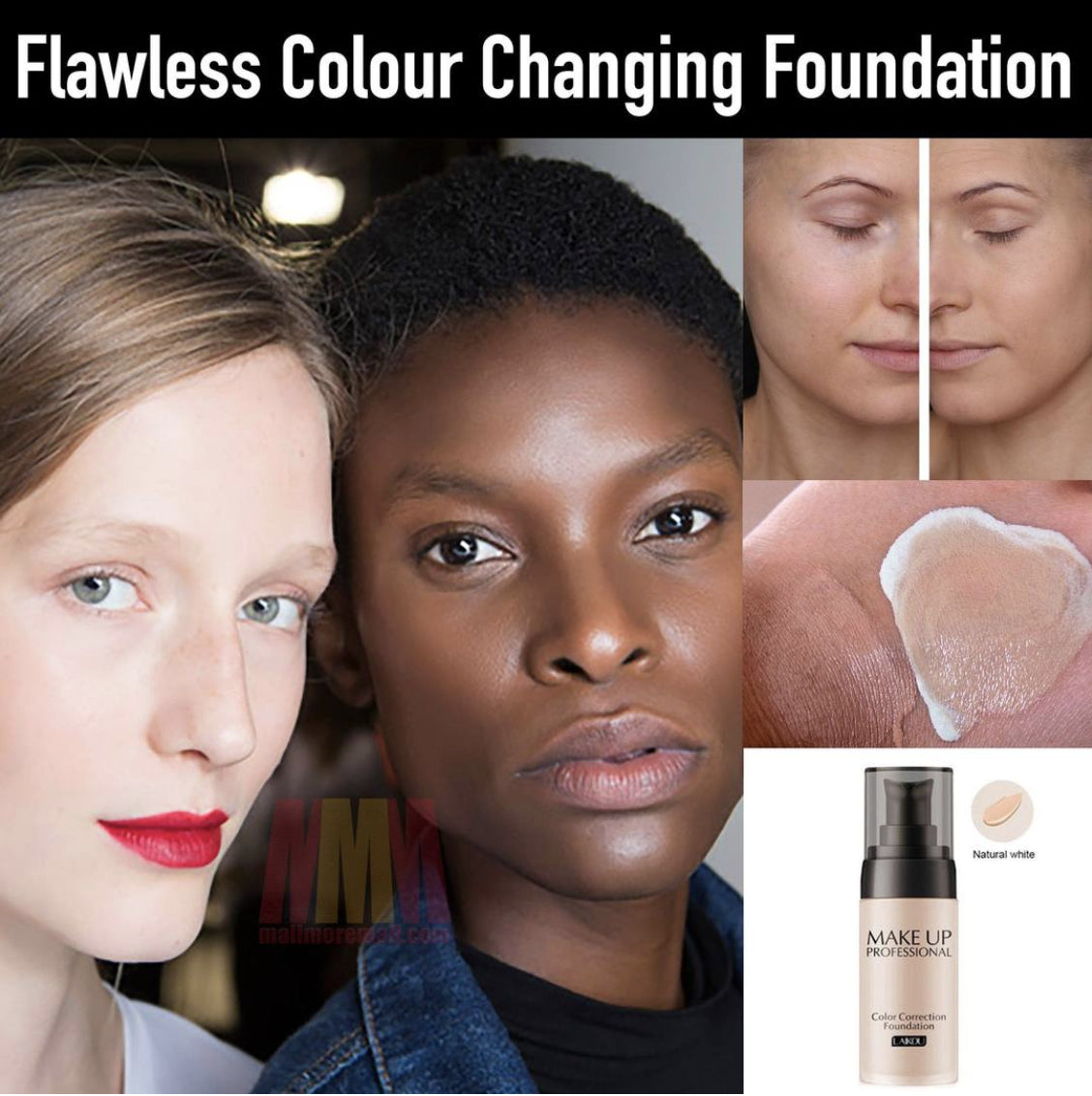 FLAWLESS COLOR BLENDING FOUNDATION