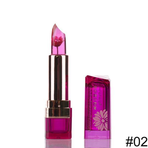 FLOWER JELLY LIPSTICK WORLDS MOST BEAUTIFUL LIPSTICK