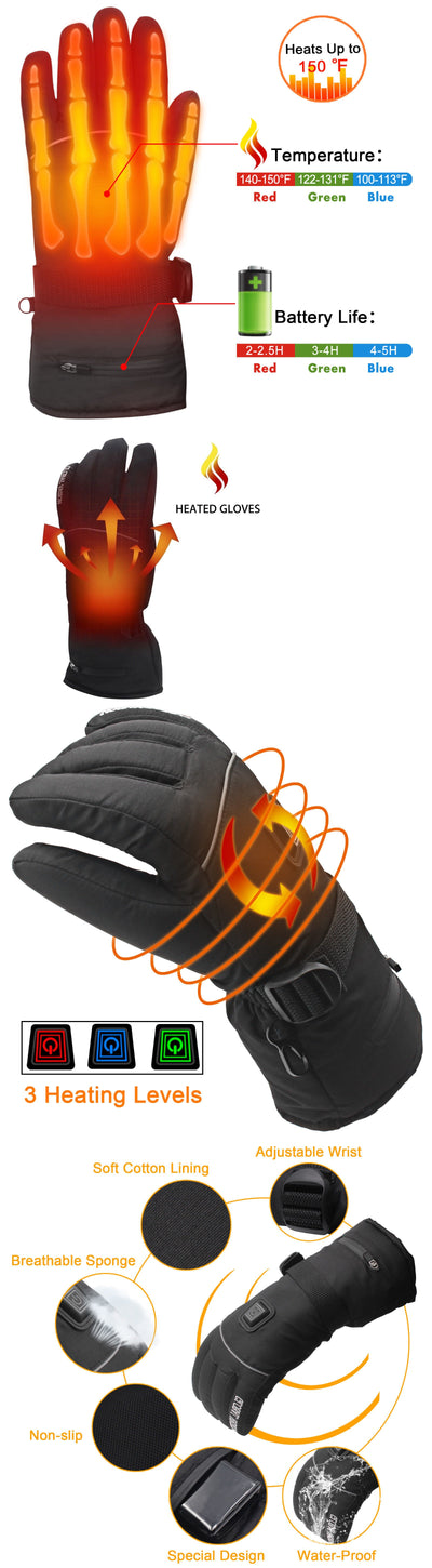 HEATED WINTER GLOVES