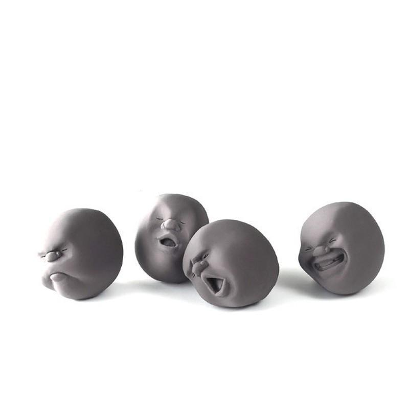 HUMAN FACE ANTI-STRESS BALLS