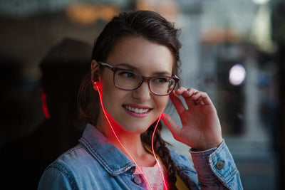LASER LED EARPHONES