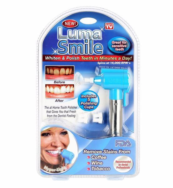 LUMA SMILE - TEETH WHITENING POLISHER