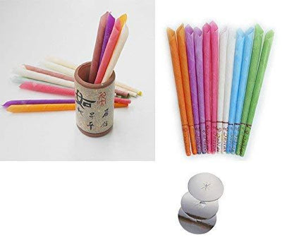 NATURAL EARWAX REMOVING CANDLES (10 PCS)