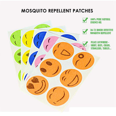 NATURAL MOSQUITO REPELLENT PATCH (60 PCS)