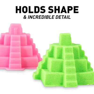 PLAY SAND WITH CASTLE MOLDS AND TRAY