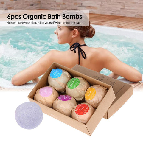 RELAXATION SOOTHING BATH BOMBS