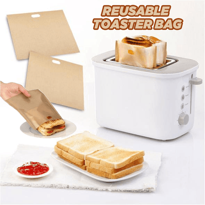 REUSABLE TOASTER BAG (5 PACK)