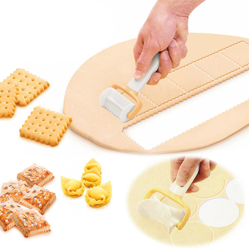 ROLLING DOUGH CUTTER (SET OF 3)