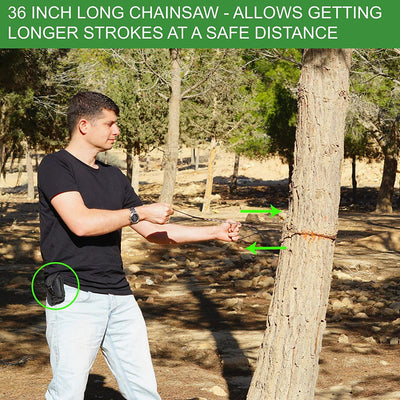 SUPER STRONG POCKET CHAINSAW