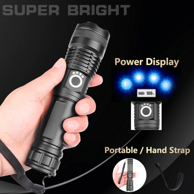 SUPER BRIGHT TELESCOPIC FLASHLIGHT