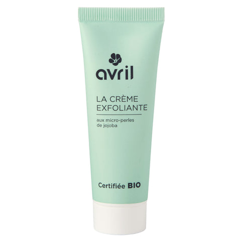 AVRIL 有機荷荷巴去角質磨沙霜 | AVRIL Exfoliating Face Cream - Certified Organic