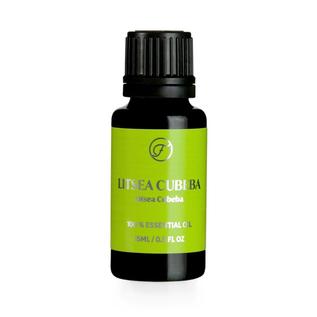 FLOW COSMETICS Organic Litsea Cubeba Essential Oil