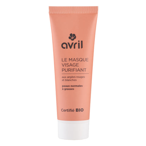 AVRIL 有機深層清潔面膜 | AVRIL Purifying Face Mask - Certified Organic