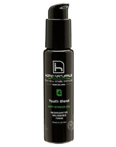 HOMO NATURALS 男士有機抗氧保濕啫喱 | HOMO NATURALS Youth Blend Moisturising Gel for Men