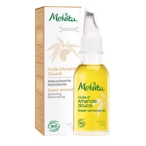 MELVITA 有機甜杏仁油 | MELVITA Organic Sweet Almond Oil