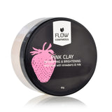 FLOW COSMETICS  草莓牛奶速效亮肌面膜粉 | FLOW COSMETICS Pink Clay Facial Mask Powder