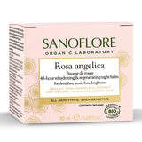 SANOFLORE 48小時玫瑰保濕睡眠面膜/晚霜 | SANOFLORE Rosa Angelica Baume De Rosée Regenerating Night Balm 50ml