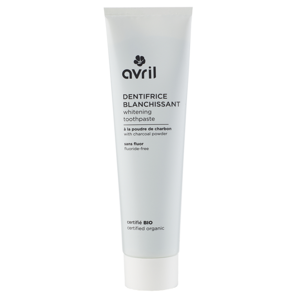 AVRIL 有機活性碳美白牙膏 | AVRIL Whitening Toothpaste 100 ml - Certified Organic